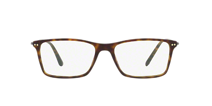 AR7037: Shop Giorgio Armani Tortoise Rectangle Eyeglasses at ...