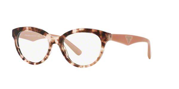 644cd8197c PR 11RV  Shop Prada Tortoise Panthos Eyeglasses at LensCrafters