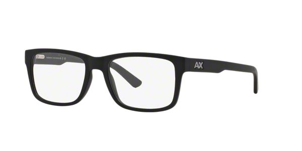 0c3d1f8589b AX3016  Shop Armani Exchange Black Square Eyeglasses at LensCrafters