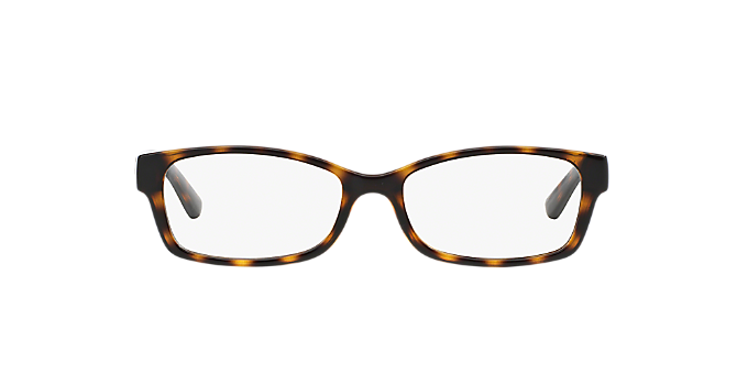 AX3017: Shop Armani Exchange Tortoise Butterfly Eyeglasses at ...