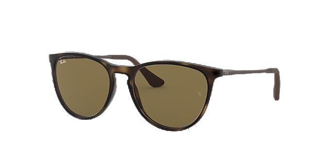 013d9306d3a92 RJ9060S 50  Shop Ray-Ban Jr Tortoise Panthos Sunglasses at LensCrafters
