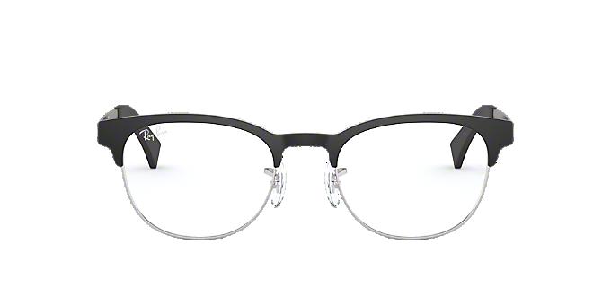 21f69b540a5 RX6317  Shop Ray-Ban Black Round Eyeglasses at LensCrafters