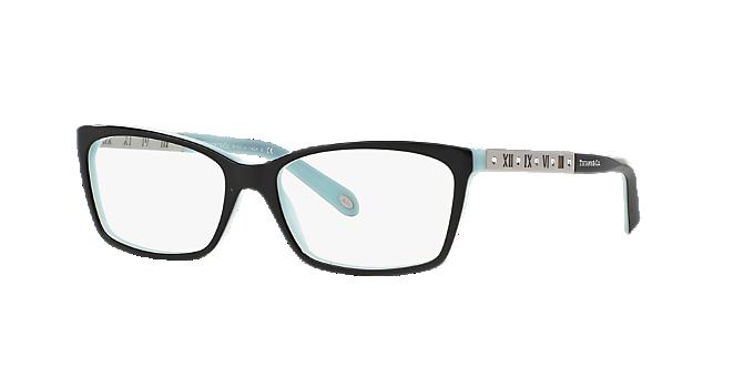 d308259347b7 TF2103B  Shop Tiffany Black Rectangle Eyeglasses at LensCrafters