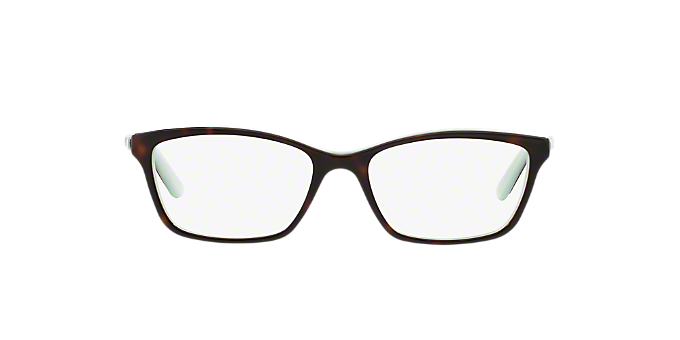 RA7044: Shop Ralph Tortoise Cat Eye Eyeglasses at LensCrafters