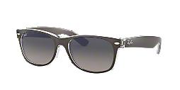 56444a98f22 RB2132 55 NEW WAYFARER  Shop Ray-Ban Silver Gunmetal Grey Square ...