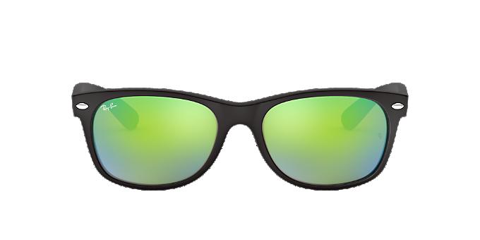 caddfbf9b8 RB2132 55 NEW WAYFARER  Shop Ray-Ban Black Square Sunglasses at ...