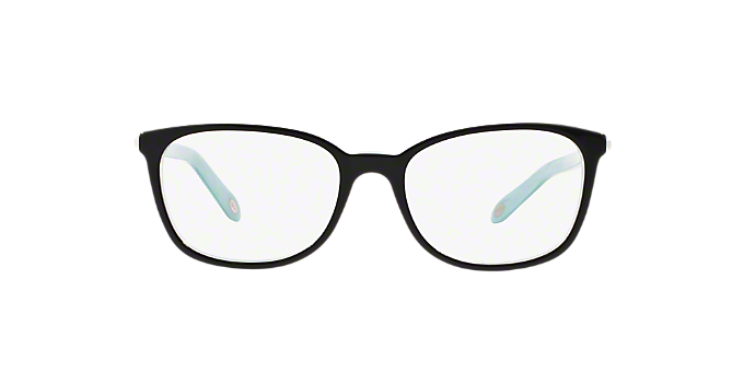 TF2109HB: Shop Tiffany Black Square Eyeglasses at LensCrafters