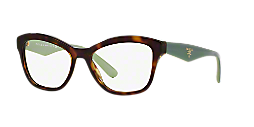 a09341f520 PR 29RV  Shop Prada Tortoise Cat Eye Eyeglasses at LensCrafters