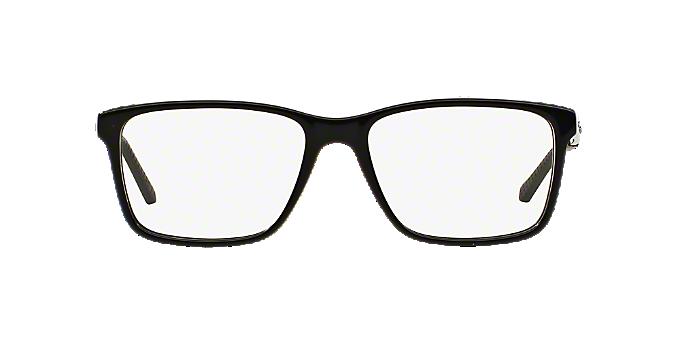142c825a69 RL6133  Shop Ralph Lauren Black Rectangle Eyeglasses at LensCrafters