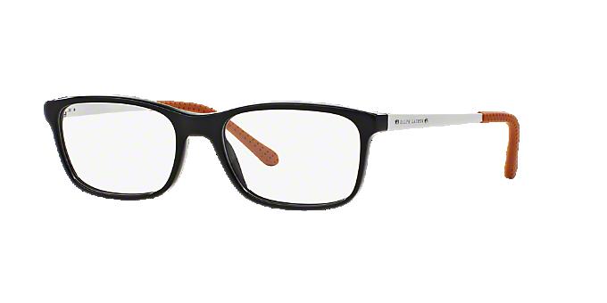 ae061e480d RL6134  Shop Ralph Lauren Black Pillow Eyeglasses at LensCrafters