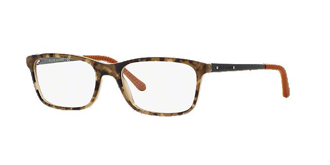 RL6134: Shop Ralph Lauren Green Pillow Eyeglasses at LensCrafters