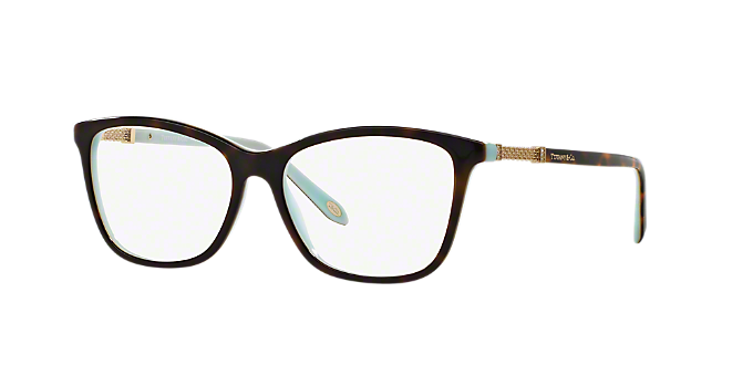 0d1c33662080 TF2116B  Shop Tiffany Tortoise Square Eyeglasses at LensCrafters
