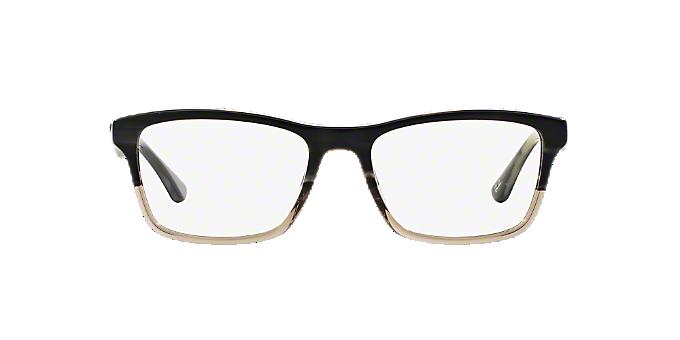 c1df005963 RX5279  Shop Ray-Ban Silver Gunmetal Grey Square Eyeglasses at ...