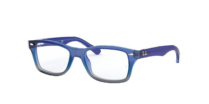 c7746aa2c3 RY1531  Shop Ray-Ban Jr Blue Pilot Eyeglasses at LensCrafters