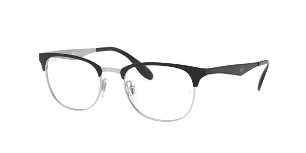 6fd7d16be37 RX6346  Shop Ray-Ban Black Square Eyeglasses at LensCrafters