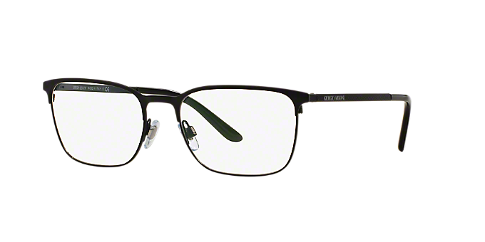 13b1d116af05 AR5054  Shop Giorgio Armani Black Square Eyeglasses at LensCrafters