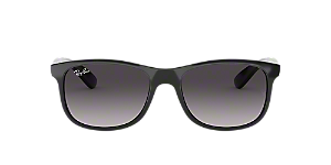 41c12d7b3a4 RB4202  Shop Ray-Ban Black Rectangle Sunglasses at LensCrafters