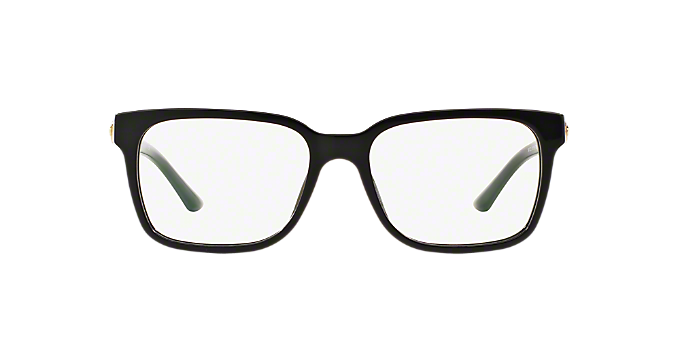 235d10cdc77 VE3218  Shop Versace Black Square Eyeglasses at LensCrafters