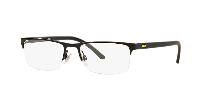 339cde1ed5 PH1161  Shop Polo Ralph Lauren Black Rectangle Eyeglasses at LensCrafters