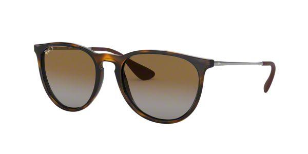 131878fffba RB4171 54 ERIKA  Shop Ray-Ban Brown Tan Pilot Sunglasses at LensCrafters
