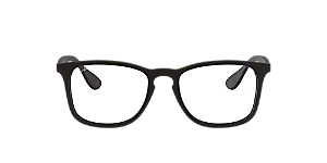1410ef69ee6 RX7074  Shop Ray-Ban Black Square Eyeglasses at LensCrafters