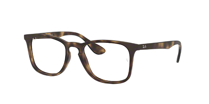 0f9c141346a RX7074  Shop Ray-Ban Tortoise Square Eyeglasses at LensCrafters