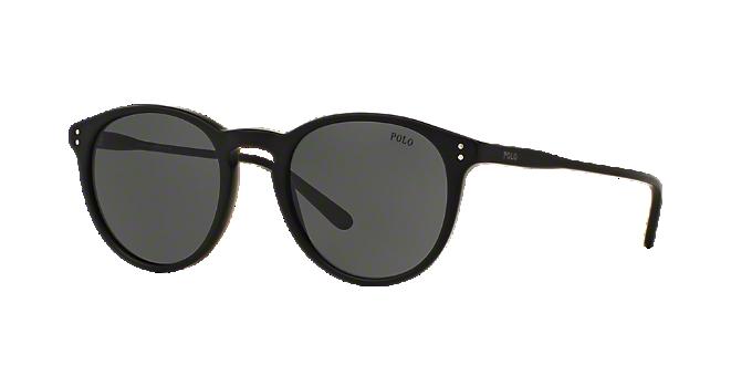 PH4110 50: Shop Polo Ralph Lauren Black Sunglasses at LensCrafters