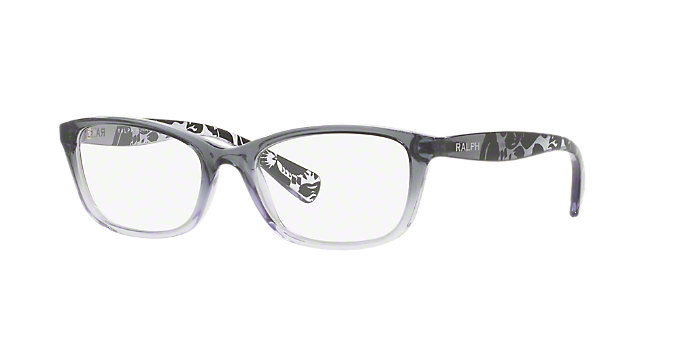 RA7072: Shop Ralph Black Pillow Eyeglasses at LensCrafters