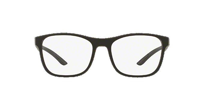 PS 08GV: Shop Prada Linea Rossa Black Square Eyeglasses at LensCrafters