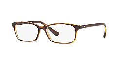 e4528bf107 VO5053  Shop Vogue Tortoise Pillow Eyeglasses at LensCrafters