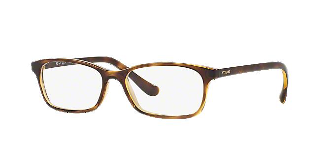 VO5053: Shop Vogue Tortoise Pillow Eyeglasses at LensCrafters