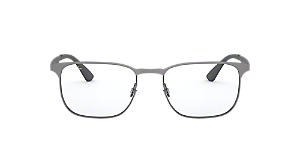 b3a5d92334 RX6363  Shop Ray-Ban Black Square Eyeglasses at LensCrafters