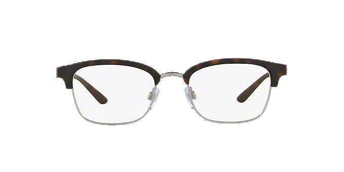 AR7115: Shop Giorgio Armani Tortoise Square Eyeglasses at LensCrafters