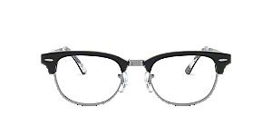 20a92dd2e8b4e RX5154  Shop Ray-Ban Black Square Eyeglasses at LensCrafters