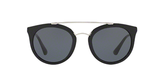 0066762af50a PR 23SS 52 CINEMA  Shop Prada Black Panthos Sunglasses at LensCrafters