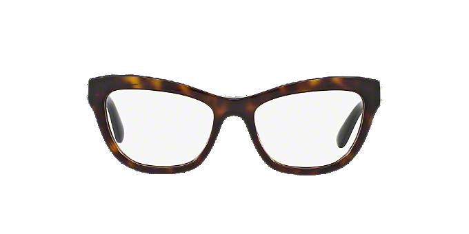 DG3253: Shop Dolce & Gabbana Tortoise Geometric Eyeglasses at ...