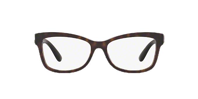 DG3254: Shop Dolce & Gabbana Tortoise Butterfly Eyeglasses at ...
