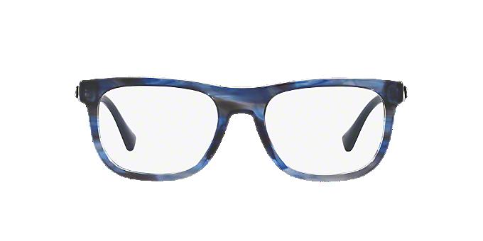 DG3257: Shop Dolce & Gabbana Blue Square Eyeglasses at LensCrafters