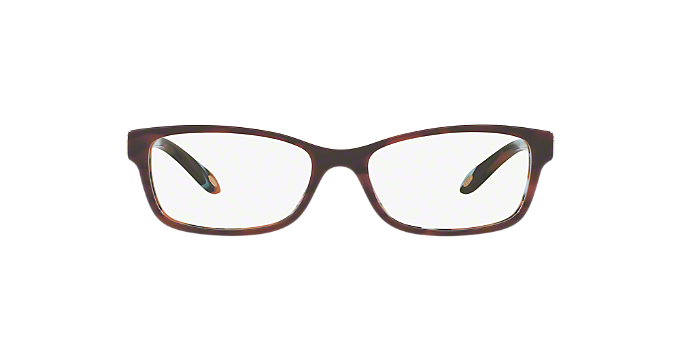 TF2140: Shop Tiffany Red/Burgundy Rectangle Eyeglasses at LensCrafters