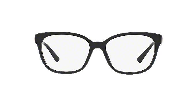VE3240: Shop Versace Black Square Eyeglasses at LensCrafters