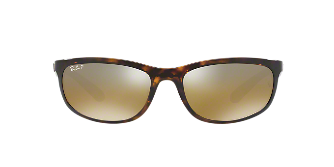 RB4265 62: Shop Ray-Ban Tortoise Rectangle Sunglasses at LensCrafters