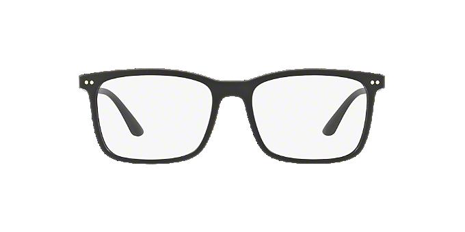 7326475f208a AR7122  Shop Giorgio Armani Black Square Eyeglasses at LensCrafters