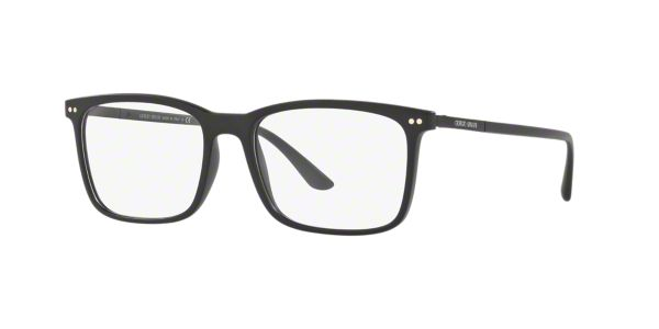 9db8febdf80 AR7122  Shop Giorgio Armani Black Square Eyeglasses at LensCrafters