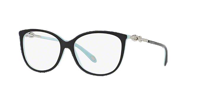 018e829a69b TF2143B  Shop Tiffany Black Oval Eyeglasses at LensCrafters