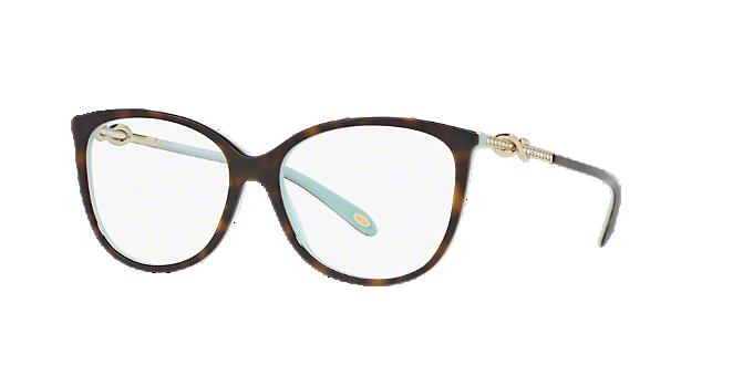 19524d94b2721 TF2143B  Shop Tiffany Blue Oval Eyeglasses at LensCrafters