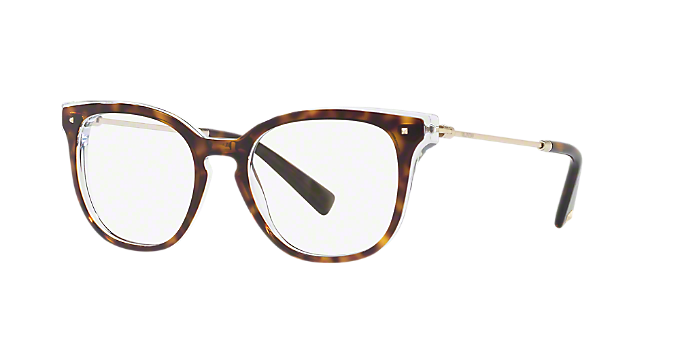 VA3006: Shop Valentino Tortoise Square Eyeglasses at LensCrafters