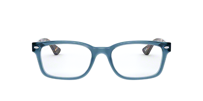 6a7da09f1d RX5286  Shop Ray-Ban Blue Square Eyeglasses at LensCrafters