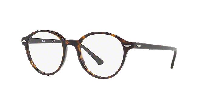 6ec72d01cd RX7118  Shop Ray-Ban Tortoise Square Eyeglasses at LensCrafters