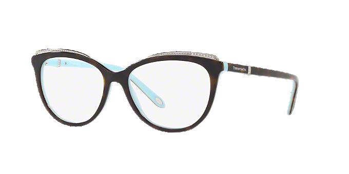 TF2147B: Shop Tiffany Tortoise Cat Eye Eyeglasses at LensCrafters