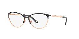 1f41149c346 TF1127  Shop Tiffany Black Cat Eye Eyeglasses at LensCrafters